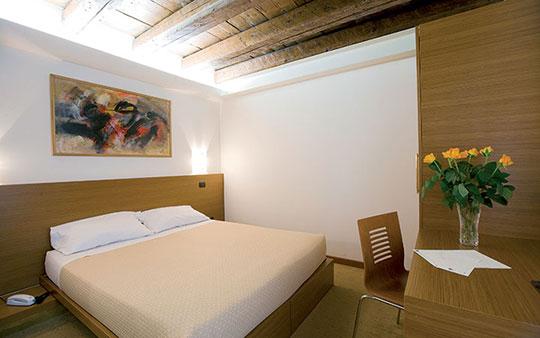 Camera matrimoniale - Hotel Quo Vadis Udine