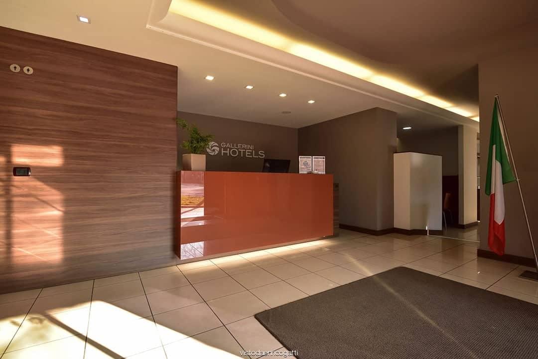Reception - Hotel Quo Vadis Udine